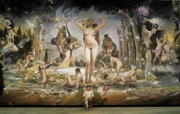 Знаменитый художник Quim Hereu и одна из его картин