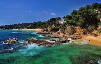 Виды побережья Коста Брава